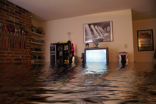 Basement flood Beaverton OR
